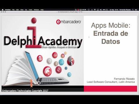 Aplicaciones móviles: Entrada de Datos