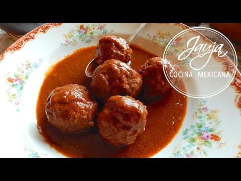 Mexican Albondigas. Mexican Meatballs. Chipotle Mexican Albondigas