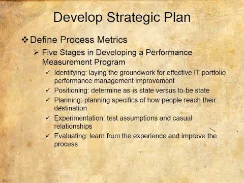 Develop Strategic Plan