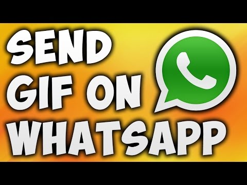 How To Send Gif On Whatsapp - Animated Images On Whatsapp [BEGINNER'S TUTORIAL]