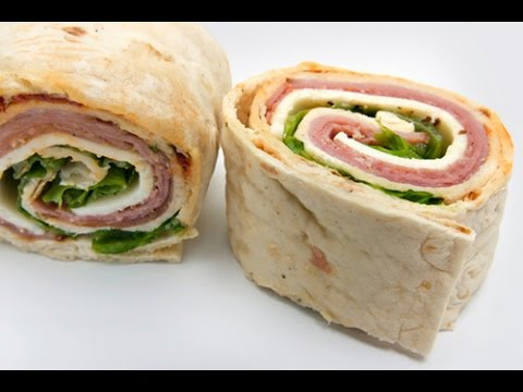 how to make pinwheel sandwiches