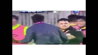 لاعب يختفي في الدوري الهندي بعد تسجيل هدف 😨