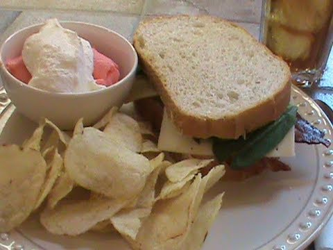 A Sandwich and Jello For Lunch