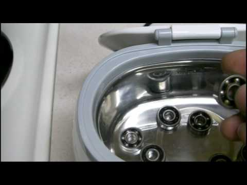 Cleaning ILQ9 Inline Skate Bearings: Pt 2 - Cleaning