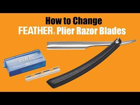 How to Change Feather Plier Razor Blades