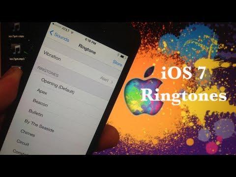 iOS 7 NEW Ringtones and Alert Sounds Walkthrough