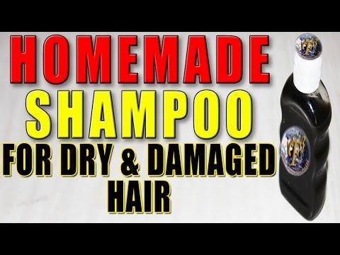 Home Made Shampoo For Dry & Damaged Hair II रूखे और नुक्सान हुए बालो के लिए घर का बना शैम्पू II