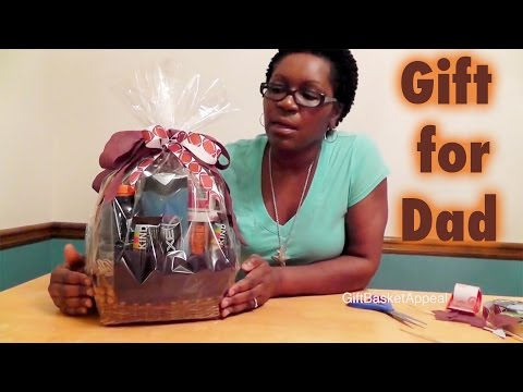 How to Make a Father's Day Gift Basket - Giftbasketappeal