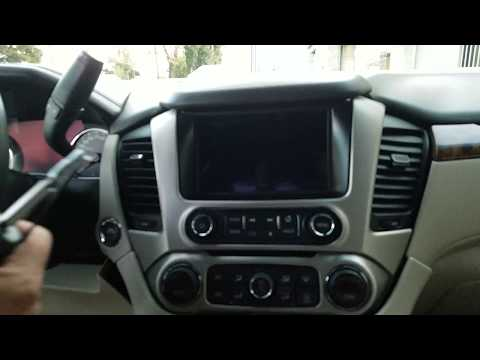 How to Remove Radio / Navigation / Display from GMC Yukon 2015  for Repair.