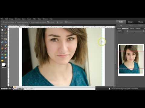 How to add a Border and Name to your Headshot