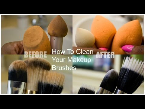 DIY: How To Clean Your Makeup Brushes And Beauty Blenders| Cheapest & Easiest Way