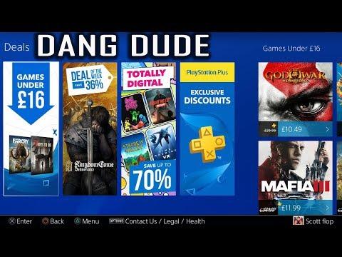 PSN GAMES UNDER 16 - PS4 PS PLUS EXCLUSIVE DISCOUNTS