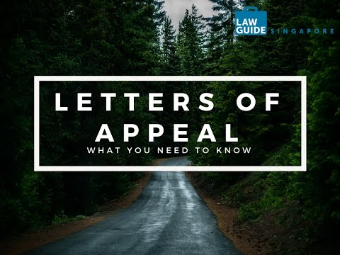 The LawGuide Nuggets Show - Criminal Cases: Letters of Appeal