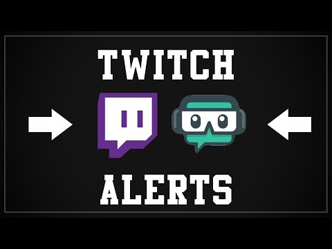 How to setup stream alerts on Twitch or Youtube (Follow Donation Sub Bits) - TUTORIAL