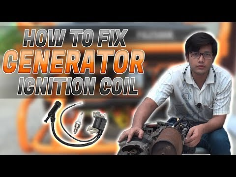 How To Fix Generator Ignition Coil Video # 4 In (Urdu/Hindi)