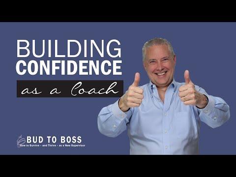 Building Confidence as a Coach
