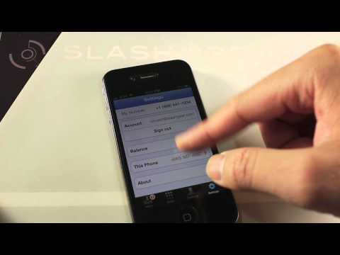Google Voice for iPhone Demo