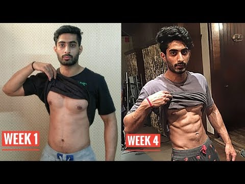 How To Get Six pack ABS in 4 weeks - Home ABS Workout