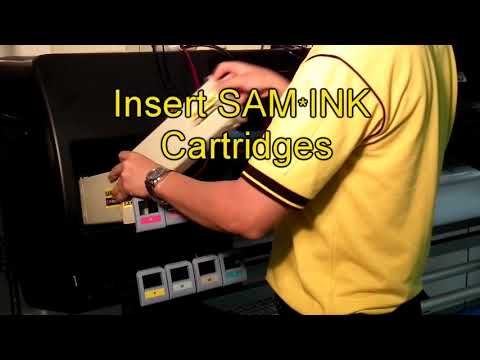 SAM*INK® HP DesignJet D5800 Z6100 Inks