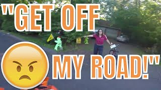 Angry Lady Yells At Me For Riding My New XC W Supermoto