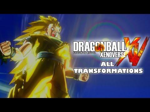 Dragon Ball Xenoverse All Transformations