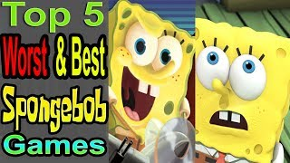 5 Worst/Best Spongebob Games