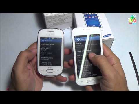 Samsung Galaxy Star GT-S5282 vs. Samsung Galaxy Star Pro GT-S7262