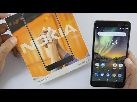 Nokia 6.1 (2018 Edition) Unboxing & Overview with Camera Samples