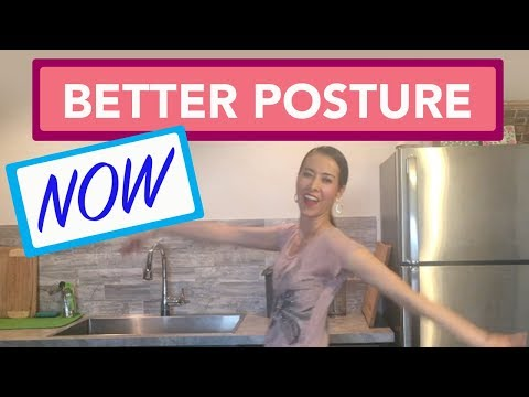 How to Improve Posture at Home | Look Taller by Improving your Posture!