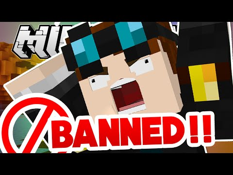 Minecraft | BANNED FROM SOMEONE'S HOUSE?!
