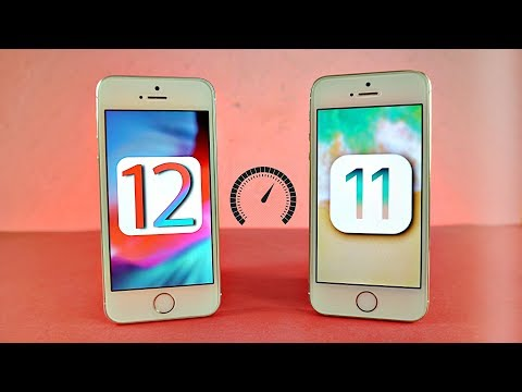 iPhone 5S iOS 12 vs iPhone 5s iOS 11 - Speed Test!
