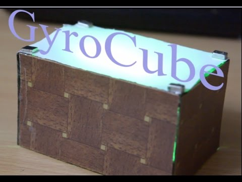 Gyroscope controlled RGB LED cube || GyroCube