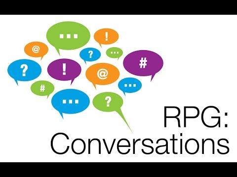 Gamesalad: RPG–NPC Conversation