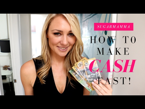 How To Make Money Fast! 20 Ideas For Quick Cash! || SugarMamma.TV