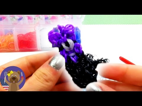 Tutorial: How to make a purple minion with loom bands?