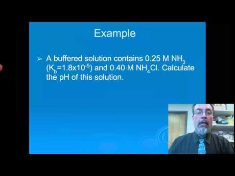 Aqueous Equilibria: Buffer Capacity