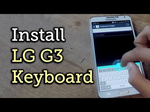 Get the LG G3 Smart Keyboard on Your Samsung Galaxy Note 3 [How-To]