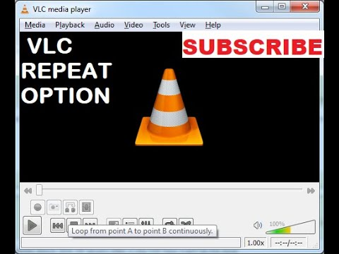 shah tutorial for repeat option of vlc media player