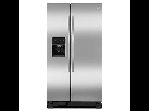 Kenmore 50023 25 cu. ft. Side-by-Side Refrigerator - Stainless Steel Review