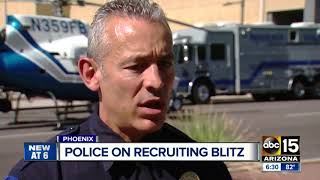 Police on recruiting blitz