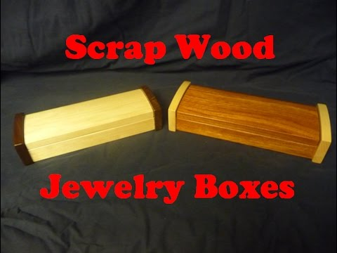 Making Scrap Wood Jewelry Boxes, Inspired By The Wood Whisperer