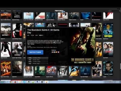 Popcorn Time! Watch HD Movies And TV Shows On Your PC Without Downloading!