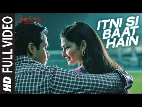 Xxx Mp4 Itni Si Baat Hain Full Video Song AZHAR Emraan Hashmi Prachi Desai Arijit Singh Pritam 3gp Sex