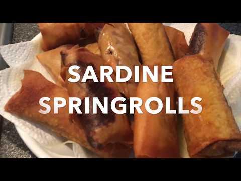 Fast Forward Cooking - SARDINE SPRINGROLLS
