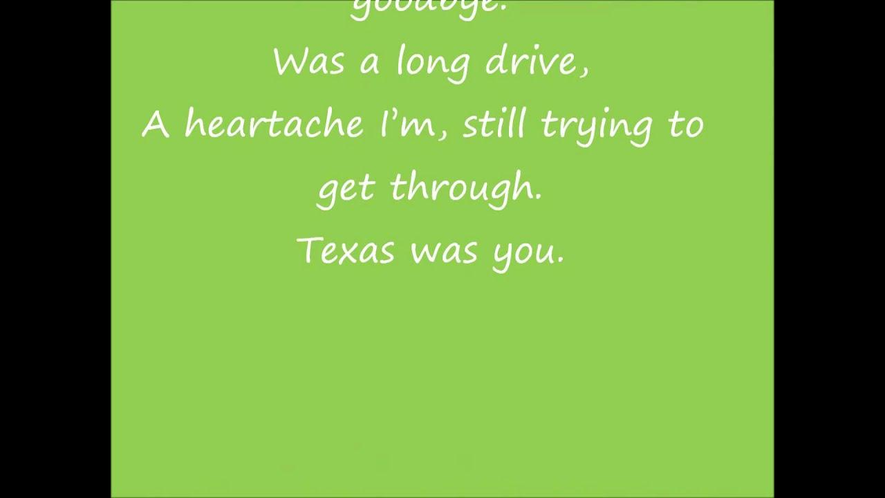 Jason Aldean - Texas Was You