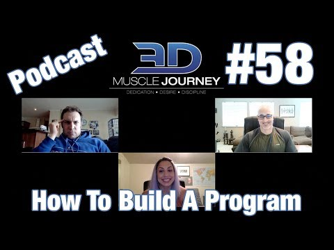 3DMJ Podcast #58: How To Build A Training Program