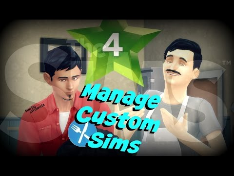 The Sims 4 Dine Out   How to Hire YOUR Sims instead!!   Fire Those Townies