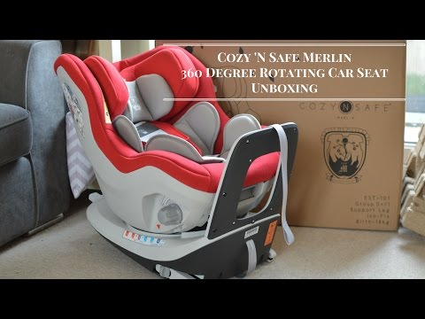 Cozy 'N Safe Merlin 360 Degree Rotating Car Seat Unboxing