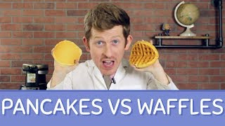Pancakes Vs. Waffles | Which One Wins?