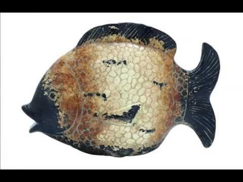 Ceramic Fish Wall | Picture Set Beautiful Decorative Handwork